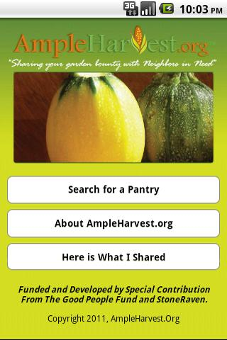 AmpleHarvest.org - screenshot