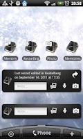 Screenshot of Memoires Widgets