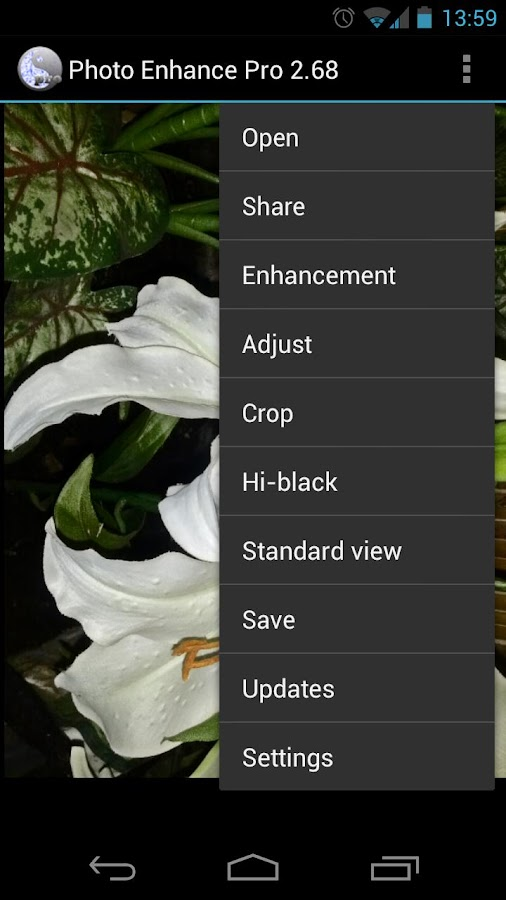 Photo Enhance HDR Editor - screenshot