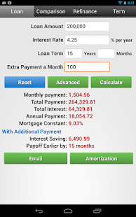 Financial Calculators - screenshot thumbnail