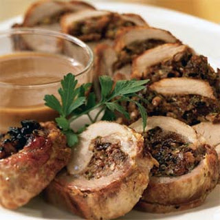 Pork Loin with Dried-Plum Stuffing