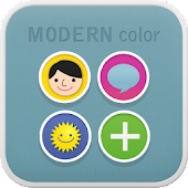 Modern Color go launcher theme