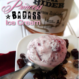 Princess Badass Ice Cream for #IceCreamTuesday #SummerWeightLoss