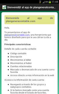 Cuentas Plan General Contable- screenshot thumbnail