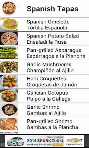Spanish Tapas Recipes