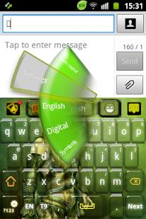 德魯伊戰士鍵盤