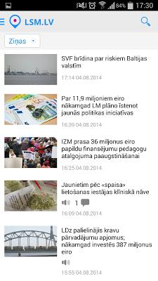 LSM.lv - screenshot