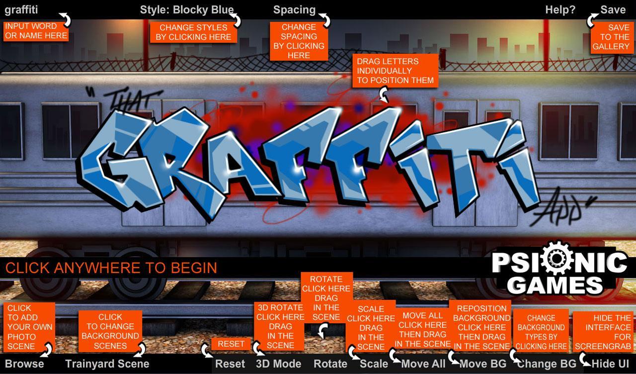 That graffiti app screenshots