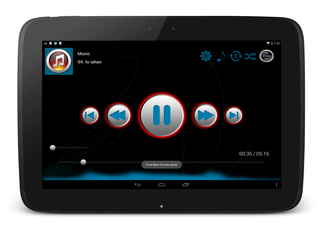 MV Player Amp Music Power Pro - screenshot