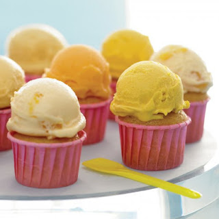 Buttermilk-Vanilla Cupcakes.