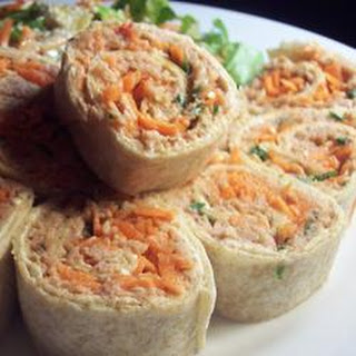 Chili Tuna Roll-Ups.