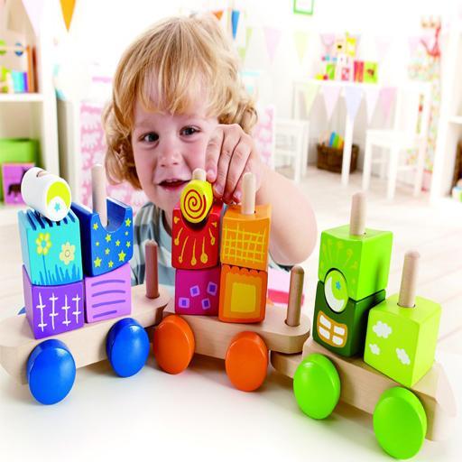 解谜の赤ちゃん列車セットパズル LOGO-記事Game