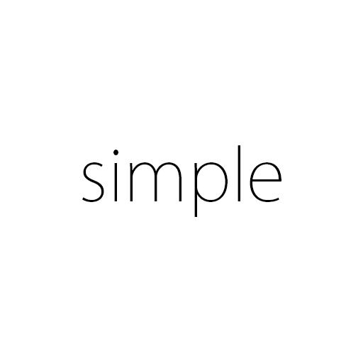 Simple Home 個人化 App LOGO-APP試玩