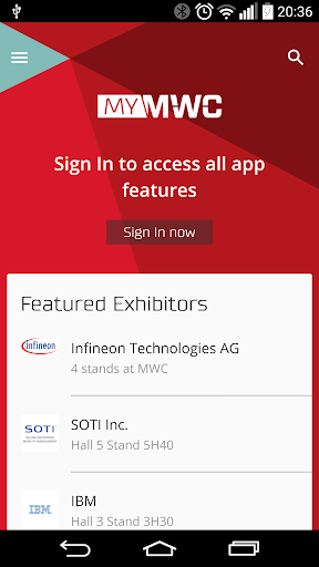 My MWC – Official GSMA MWC App