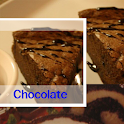 Chocolate cake recipe icon
