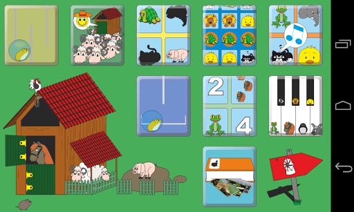 Kids' Animal Games HD