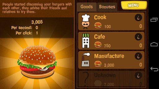 Burger Clicker 1.1.2 screenshots 2