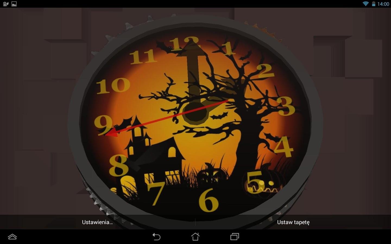 3d clock wallpaper - photo #18