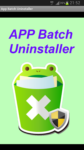 App Batch Uninstaller