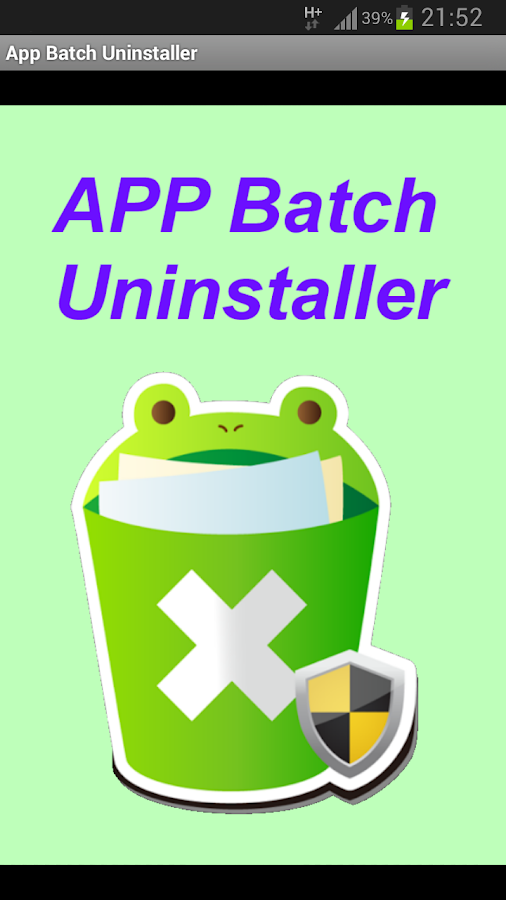 App Batch Uninstaller - screenshot