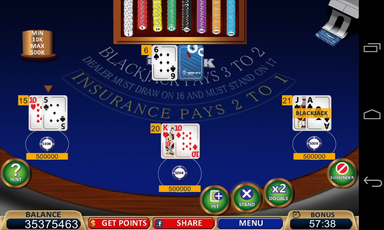 BlackJack 21 Online Game