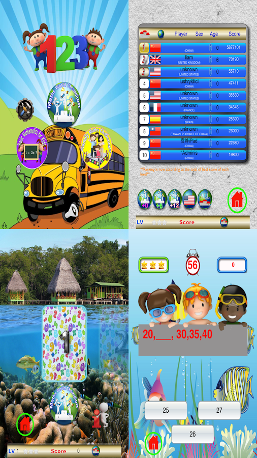 Maths Bee For Kids Free- screenshot