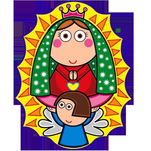Virgencita Plis Cuidanos LWP LOGO-APP點子