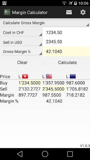 Gross Margin Calculator