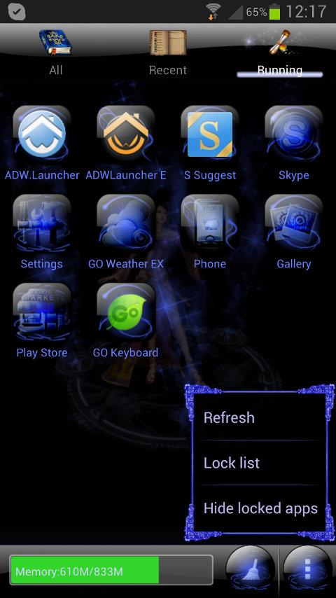 Magic Circle GO Launcher Theme- screenshot