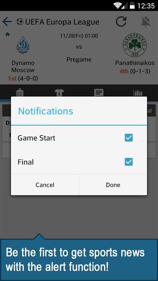 ScoreCenter LIVE - screenshot