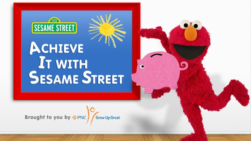 Achieve it with Sesame Street - screenshot