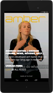Amber RSS Reader- screenshot thumbnail