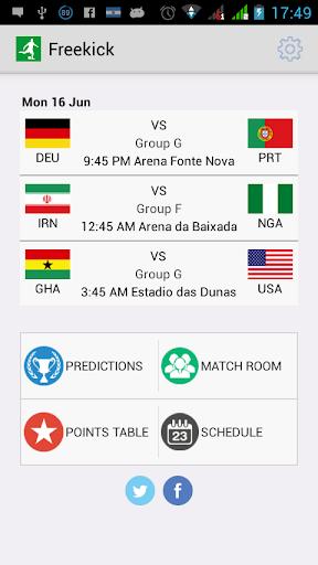 任意球 - 世界足球2014