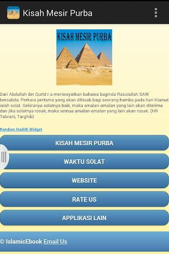 Kisah Mesir Purba