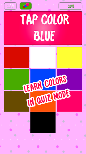 玩教育App|婴儿数目和颜色的学习免費|APP試玩