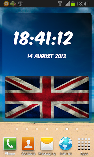 UK Digital Clock