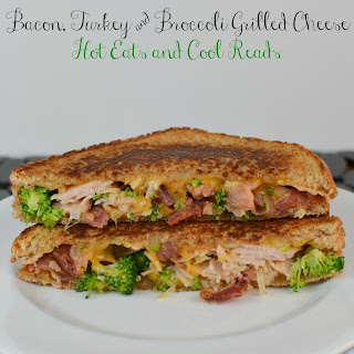 Bacon, Turkey, and Broccoli Grilled Cheese Sandwich Recipe