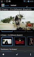 Screenshot of MusicTV