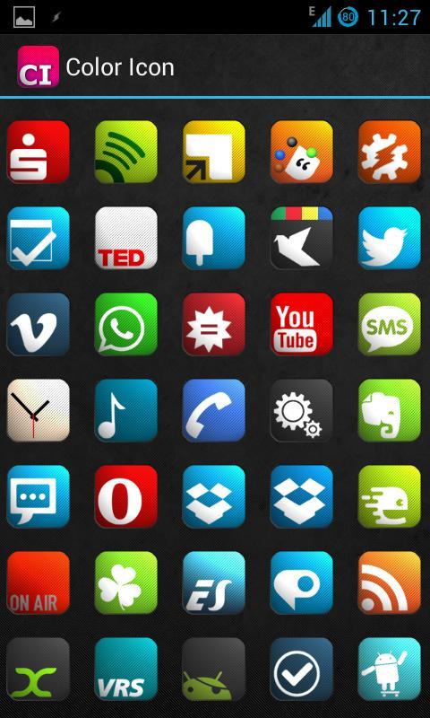 Color Icon - screenshot