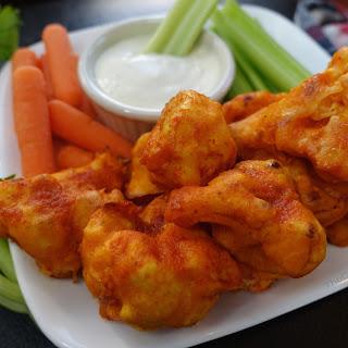 Cauliflower Hot 'Wings'