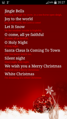 Christmas Carols - screenshot