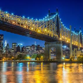 Queensboro Bridge by Ronald Susaya - Uncategorized All Uncategorized ( magnificent, skyline, queensboro, new york, usa,  )