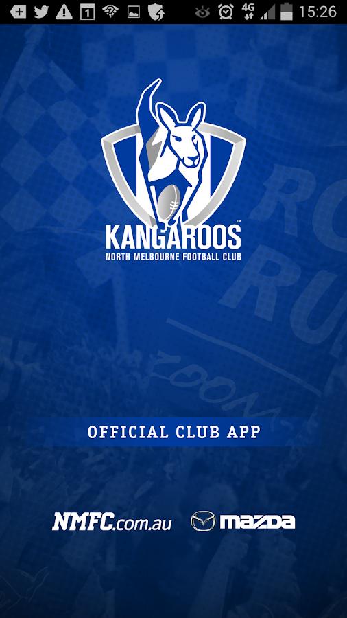 North Melbourne Official App - screenshot