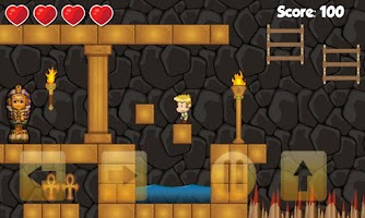 Screenshot of Mummy Boy