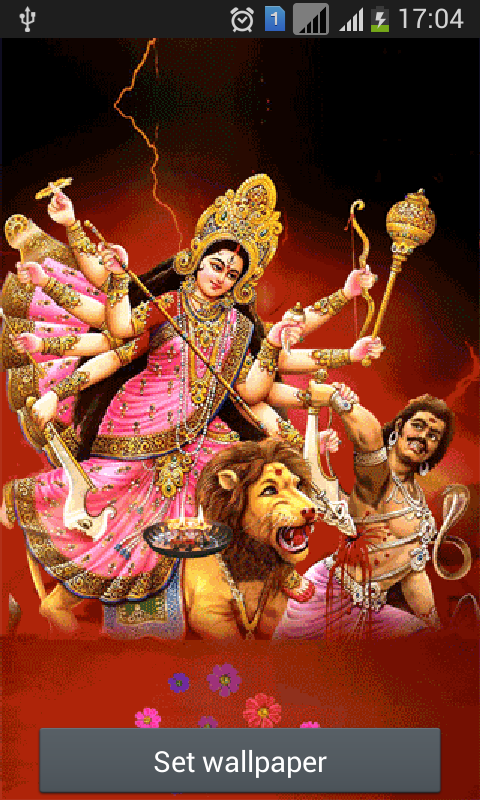 Maa Durga : Live Wallpaper - Android Apps on Google Play