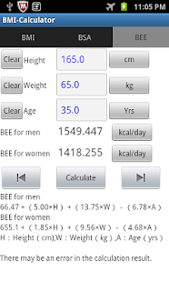 BMI-Calculator- screenshot thumbnail