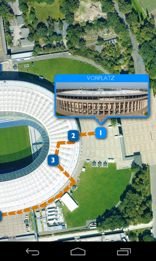 Olympic Stadium Berlin App- screenshot
