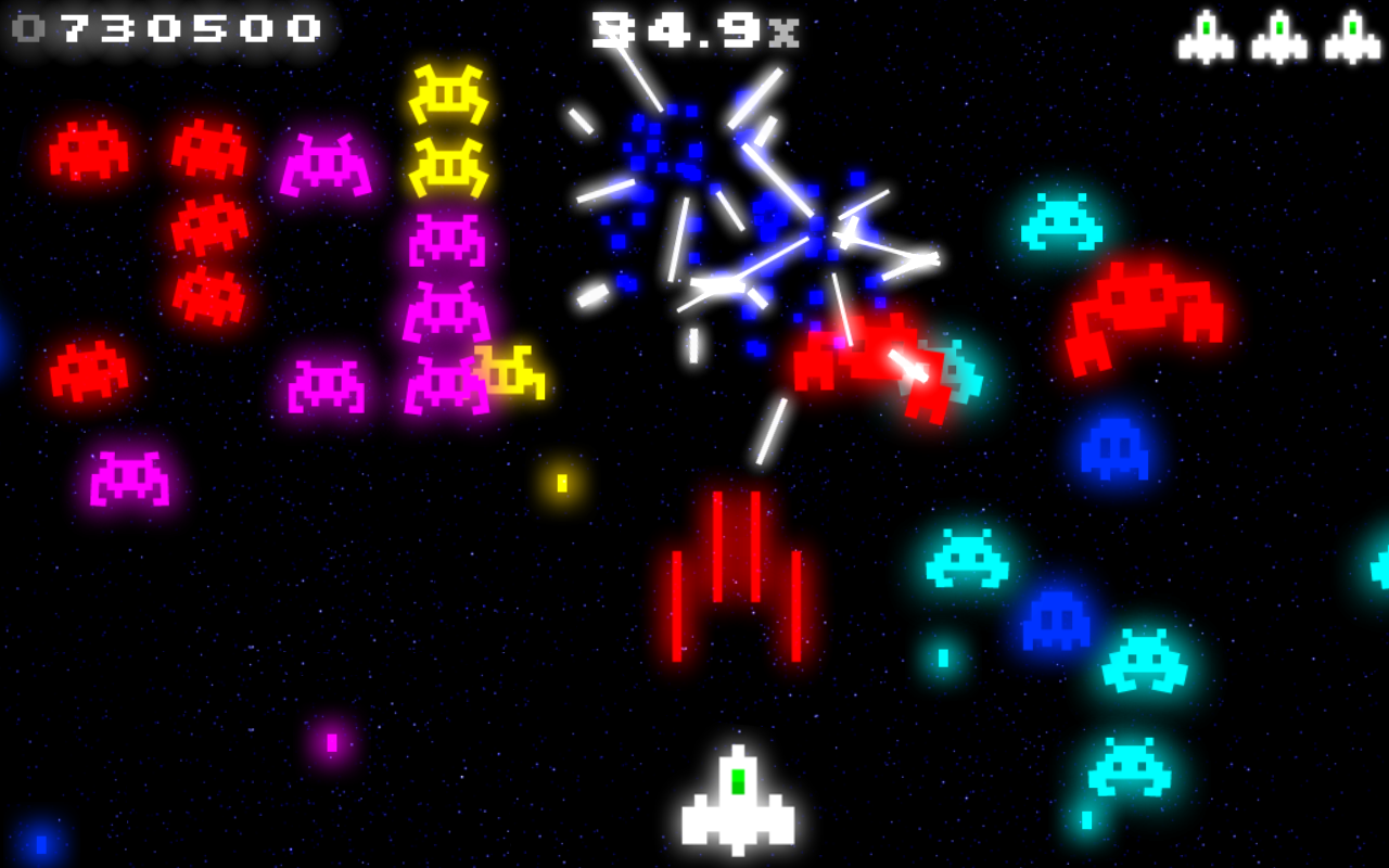 space invasion game