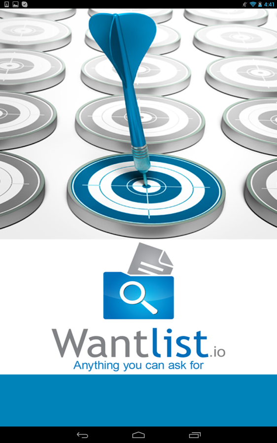 WantList- screenshot