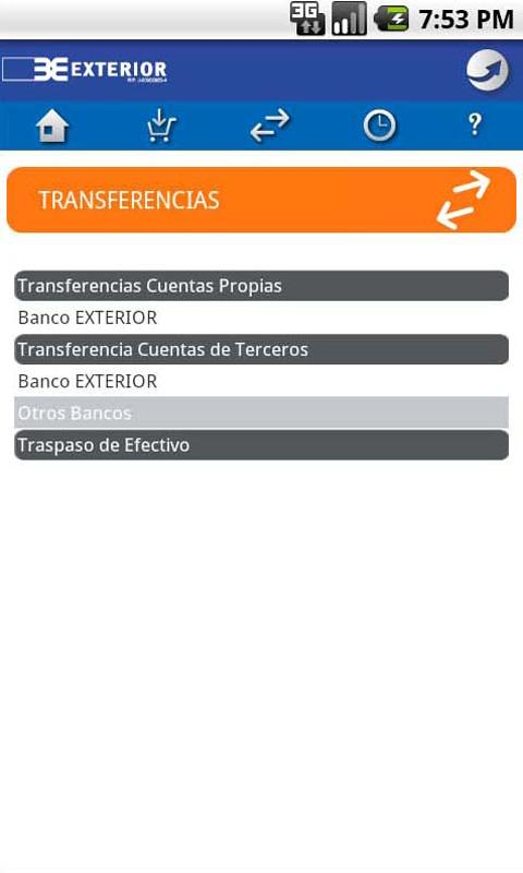 Exterior nexo m vil android apps on google play for Bancoexterior internet e24